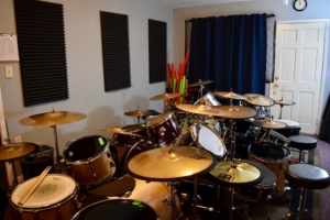 The Drum Room at Lessons With Austin