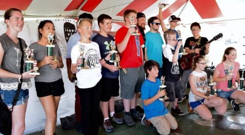 strawberry festival Lessons With Austin 2016